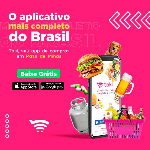 Taki, app de compras de Patos de Minas
