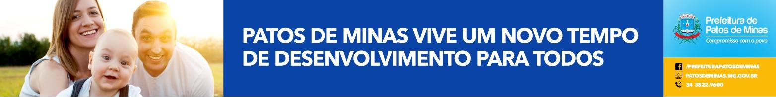 Campanha Novo Tempo - Pref. Patos de Minas