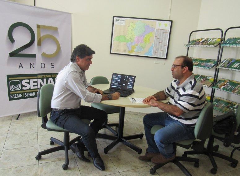 Superintendente do Senar Minas visita a região do Alto Paranaíba
