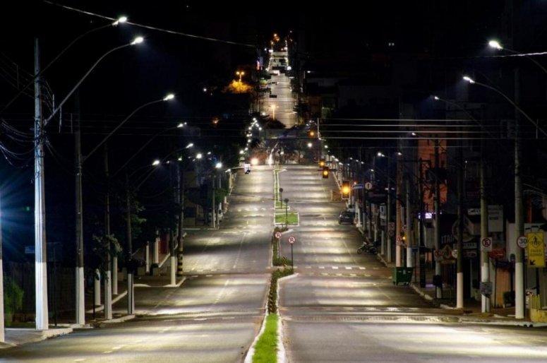 Prefeitura realiza pesquisa sobre modernização da iluminação pública