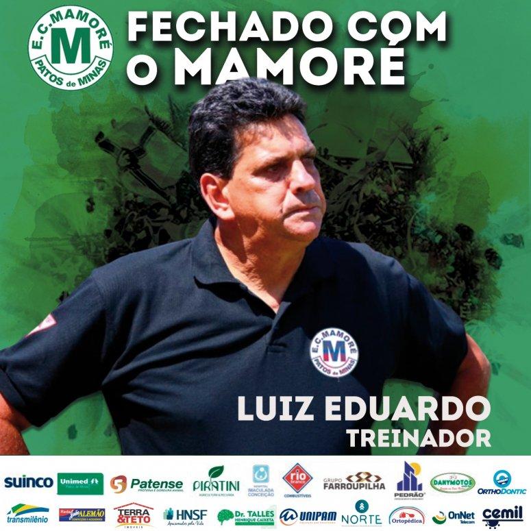 Mamoré confirma Luiz Eduardo como treinador para a sequência do Módulo II