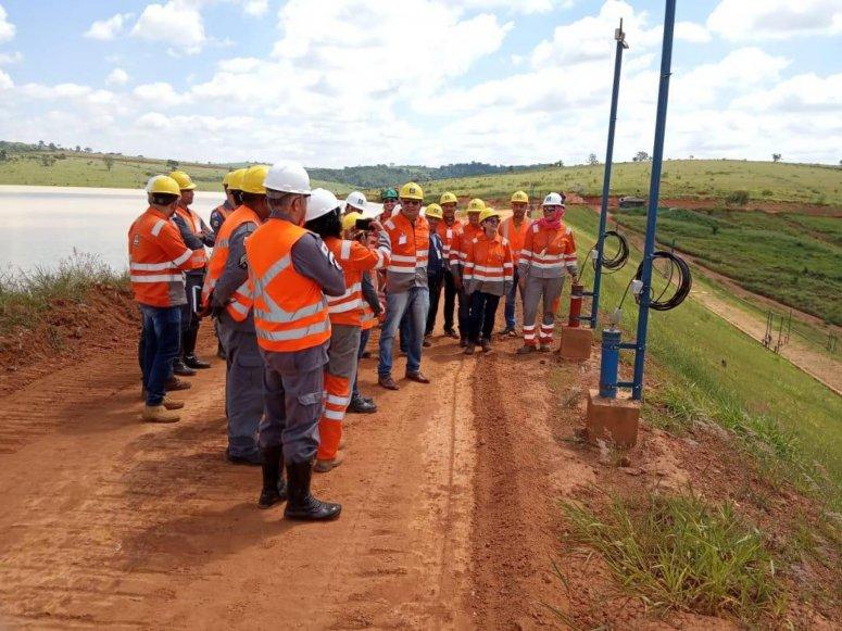 Defesa Civil e Membros do Comitê Cidade Resiliente fazem visita técnica á empresa Yara Brasil Fertilizantes