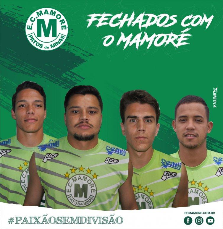 Mamoré anuncia quatro atletas que fizeram parte da equipe 2019
