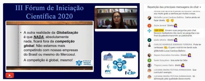 FPM: O 3º Fórum de Iniciação Científica repete o sucesso