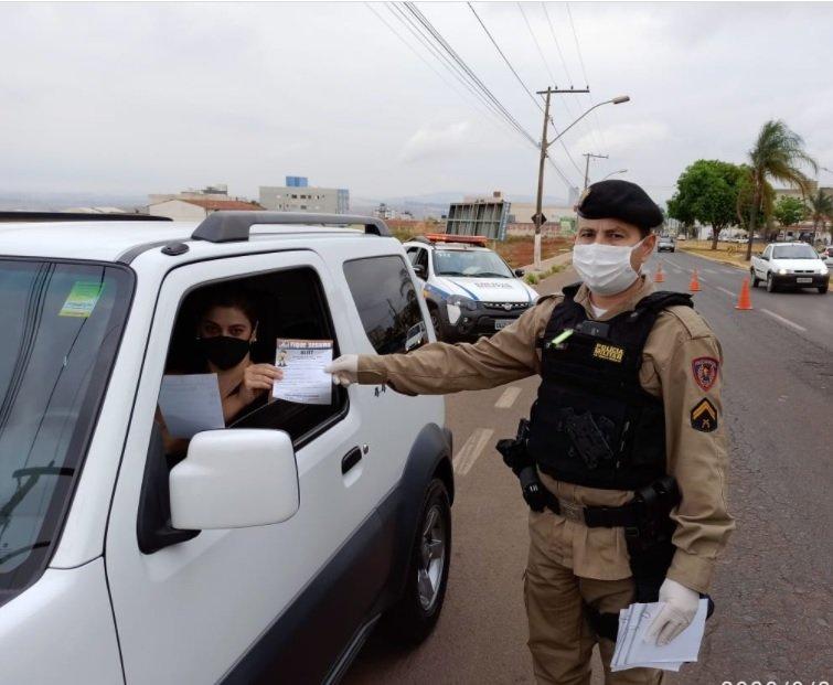 PM realiza diversas ações de prevenção e conscientização na Semana do Trânsito