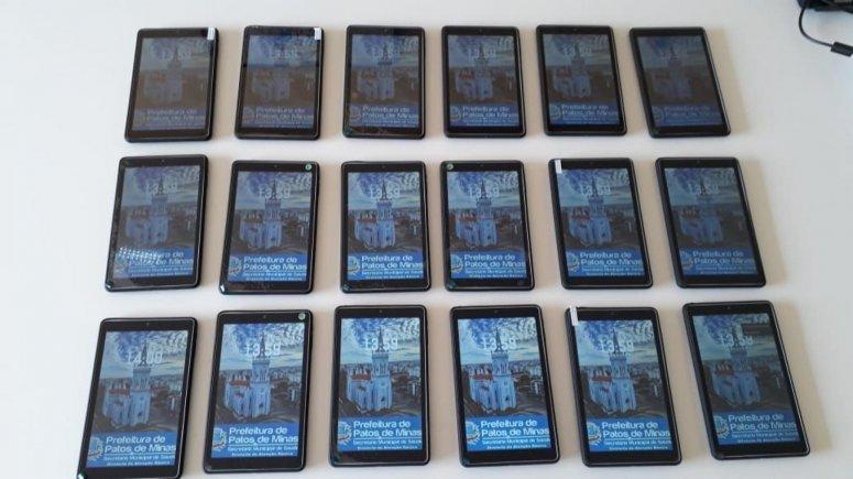 Prefeitura realiza entrega de tablets para agentes comunitários de saúde nessa quinta-feira