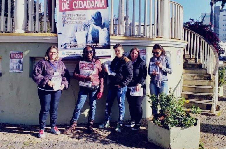 Prefeitura dá continuidade à campanha ´Não dê esmola, dê cidadania´