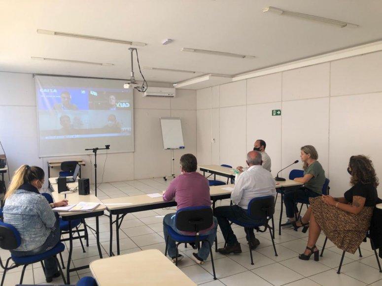 FIEMG Regional Alto Paranaíba promove reunião virtual com superintendentes da CEF