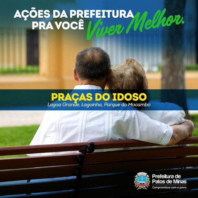 Praças do Idoso: ações da prefeitura para você viver melhor