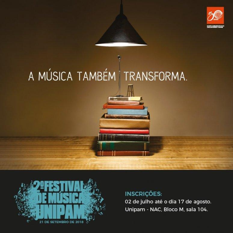 Inscrições para o II Festival de Música encerram-se na próxima semana