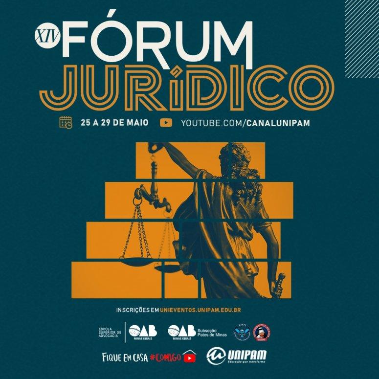 Curso de Direito promove Fórum Jurídico na próxima semana
