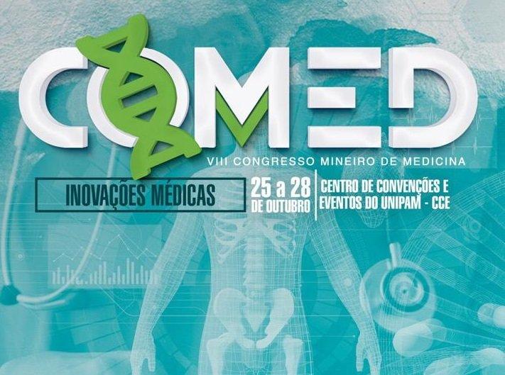 Congresso Mineiro de Medicina será promovido neste mês