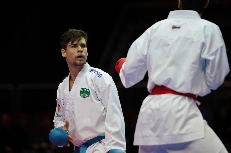 Confiante Rafael Nascimento embarca para a disputa da Karate1 Series A, do Chile