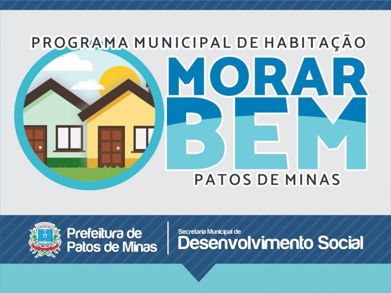 Morar Bem: Programa Municipal de Habitação tem inscrições abertas
