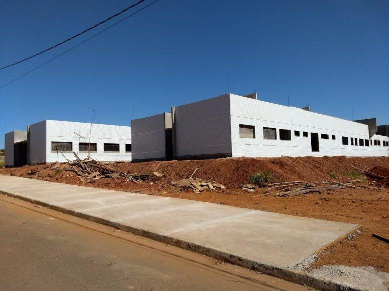 Obras do Centro Especializado em Reabilitação em breve estarão na fase final de execução