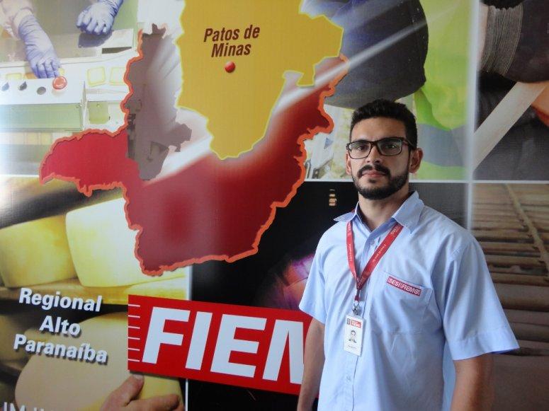 FIEMG Regional Alto Paranaíba tem novo analista ambiental