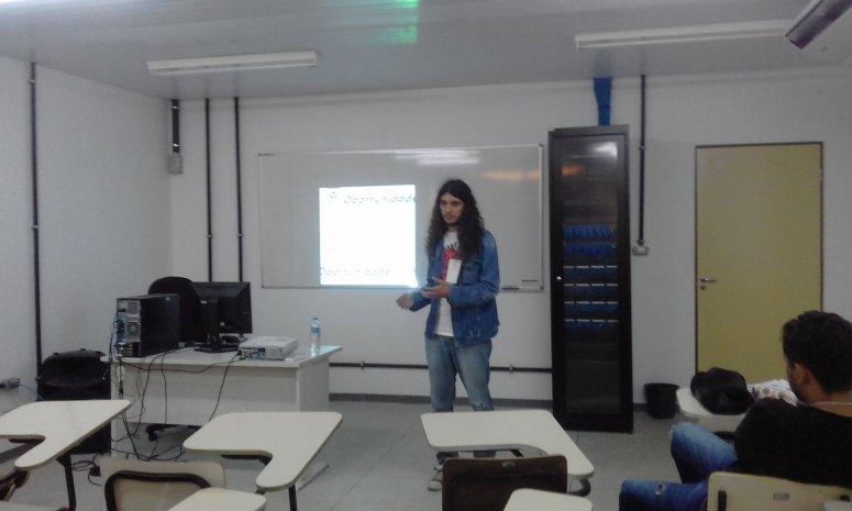 Aluno de Jornalismo apresenta trabalho em Congresso de Ciências da Comunicação