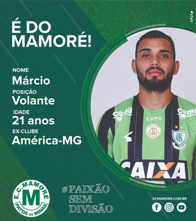 Mamoré terá o reforço de volante do América Mineiro