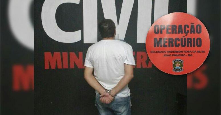Polícia Civil prende João do Laço no âmbito da Operação Mercúrio