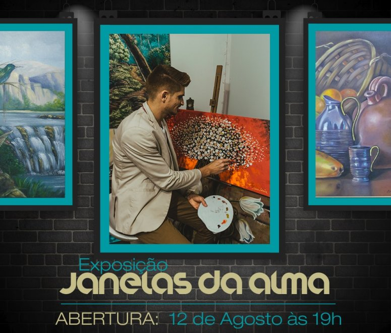 Pátio Central Shopping exibe exposição Janelas da Alma