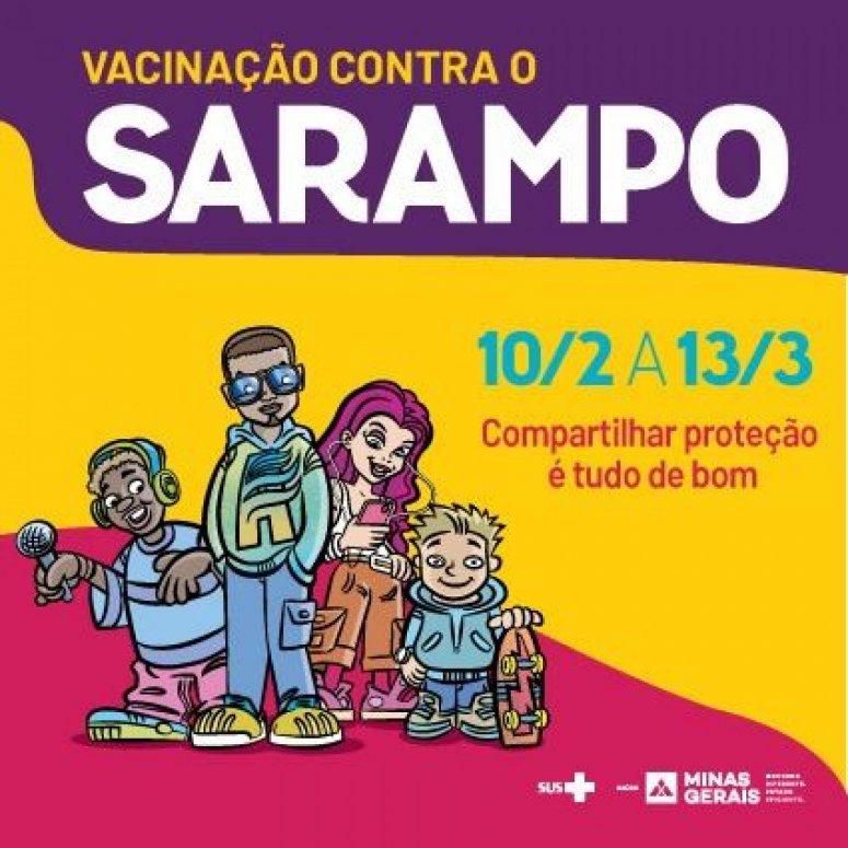 Começa primeira etapa da Campanha Nacional de Vacinação contra o Sarampo