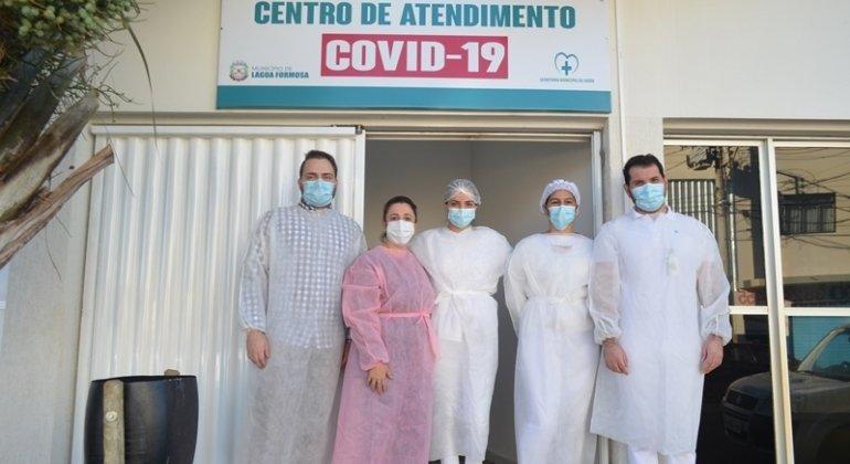 Centro de Atendimento a covid-19 entra em funcionamento em Lagoa Formosa