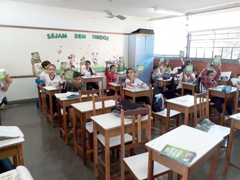 Cuidados contra o Mosquito é tema de palestra na Escola Ilídio Caixeta de Melo