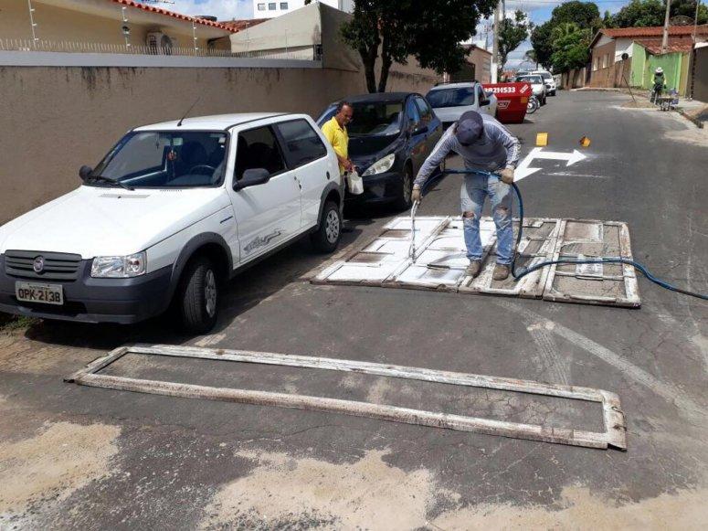 Prefeitura adquire equipamento moderno para sinalização viária
