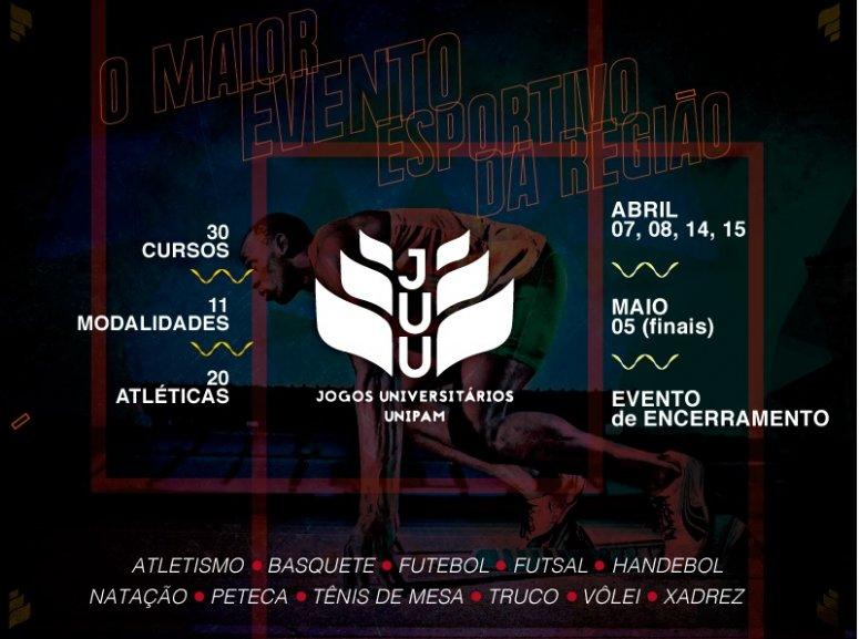 Abertura dos Jogos Universitários acontece nesta sexta-feira