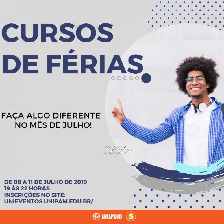 """UNIPAM promoverá """"Cursos de Férias"""" em julho"""