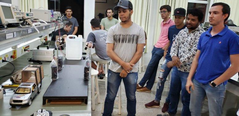 Alunos de Engenharia Elétrica apresentam Projetos Integradores