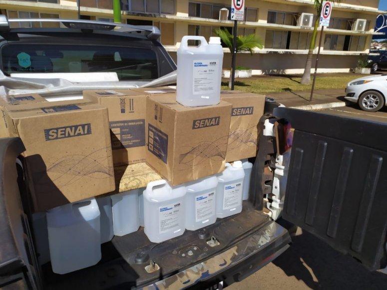 Covid-19: Fiemg doa máscaras e álcool ao Executivo municipal