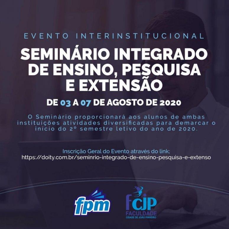 FPM E FCJP anunciam I Seminário Integrado de Ensino, Pesquisa e Extensão
