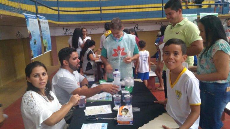 AABB-Comunidade realiza primeira festa da família com pais e alunos