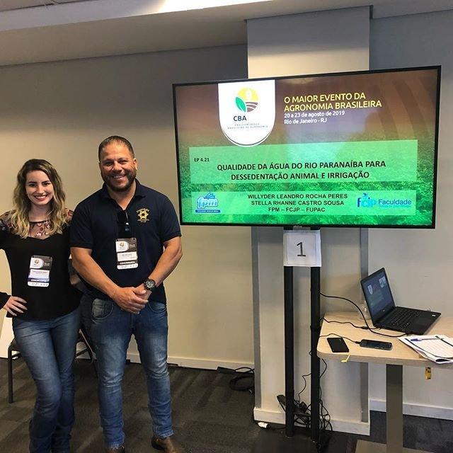 Agronomia FPM participa do Congresso Brasileiro de Agronomia