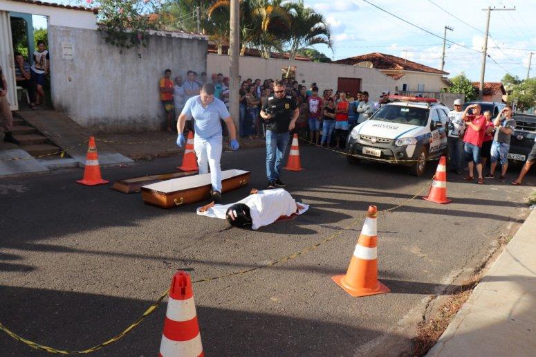 Duas pessoas são assassinadas em Presidente Olegário