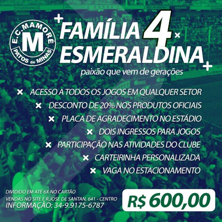 Mamoré lança plano Família Esmeraldina 4