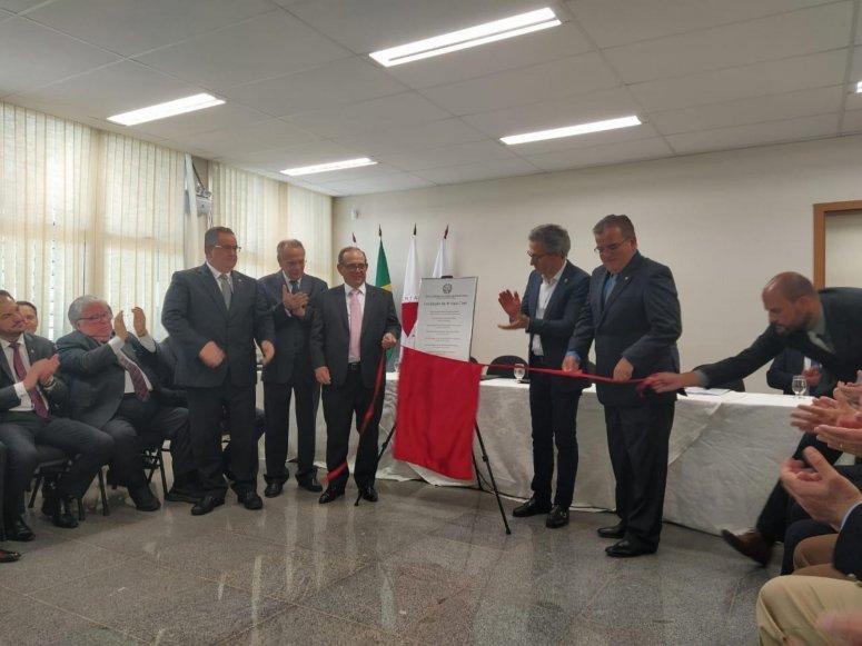 Inauguração da 4ª Vara Cível da Comarca de Patos de Minas