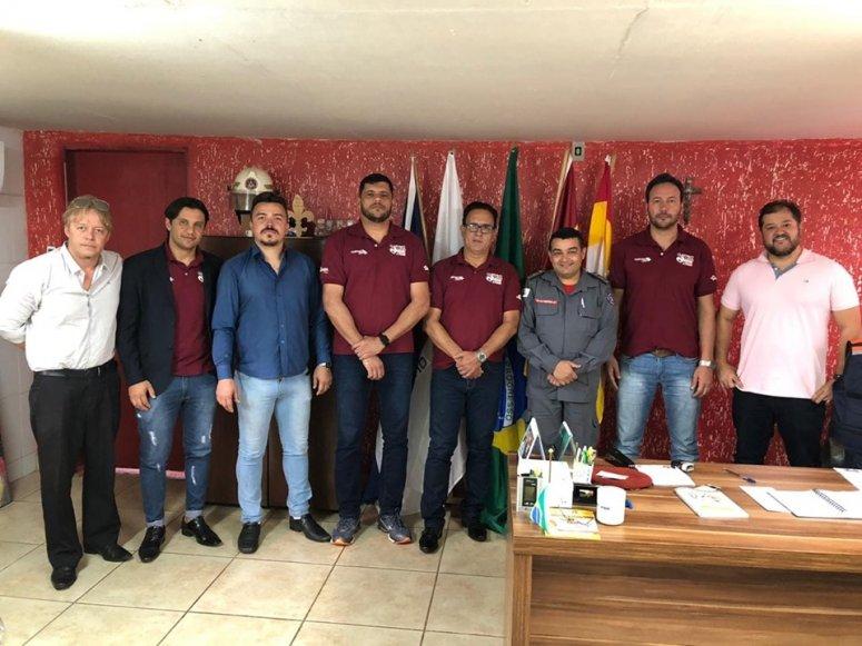 12º BBM recebe visita de equipe responsável por futebol solidário