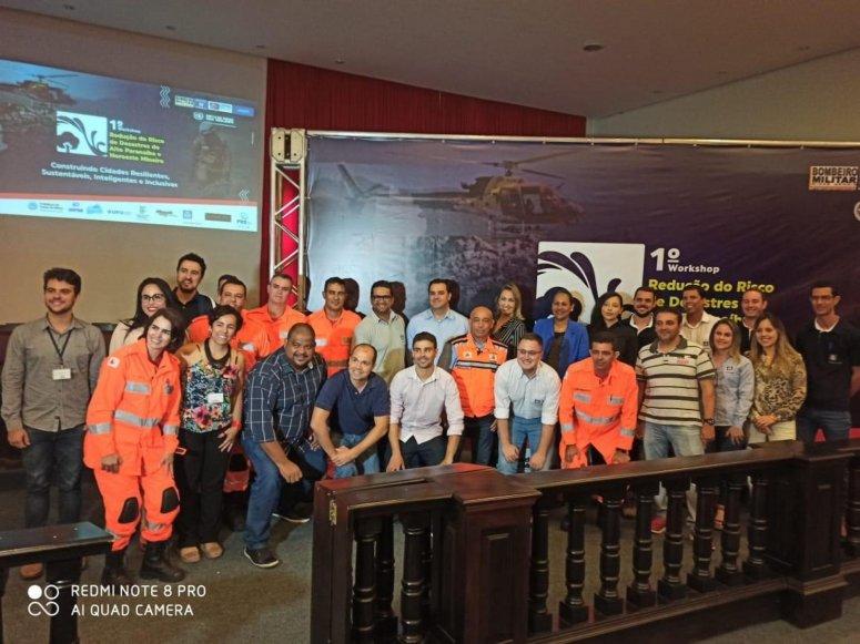 1º Workshop para Redução do Risco de Desastres do Alto Paranaíba e Noroeste Mineiro