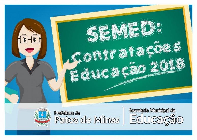 Novo edital convoca candidatos a Professor de Educação Básica para reunião de contratação