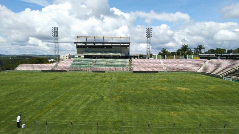 Mamoré prepara Estádio para Futebol contra a Fome e Temporada 2020