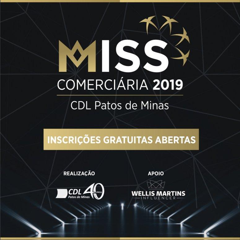 Vem aí, o concurso Miss Comerciária CDL Patos de Minas