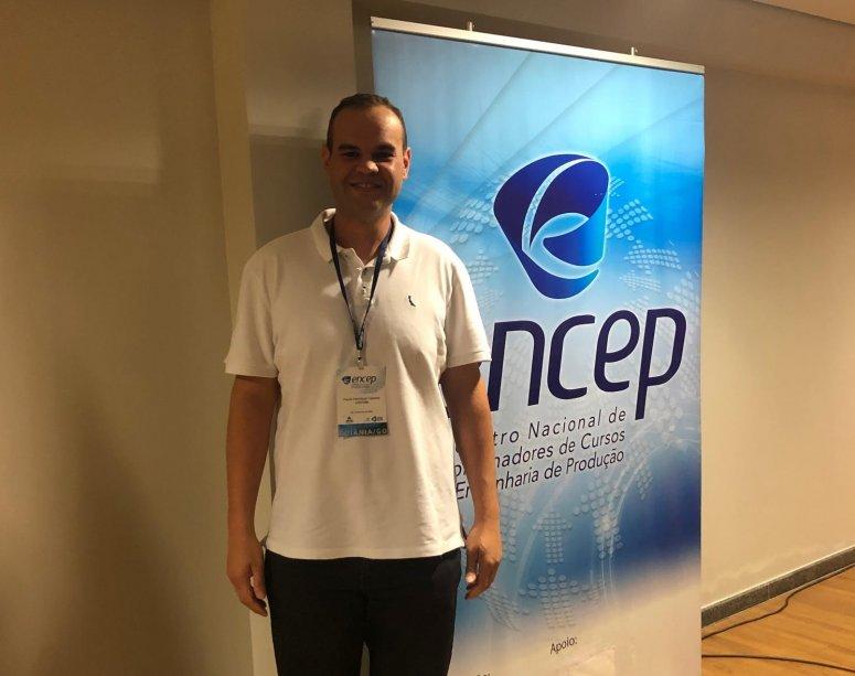Coordenador da Engenharia de Produção e da Engenharia Química participa do ENCEP