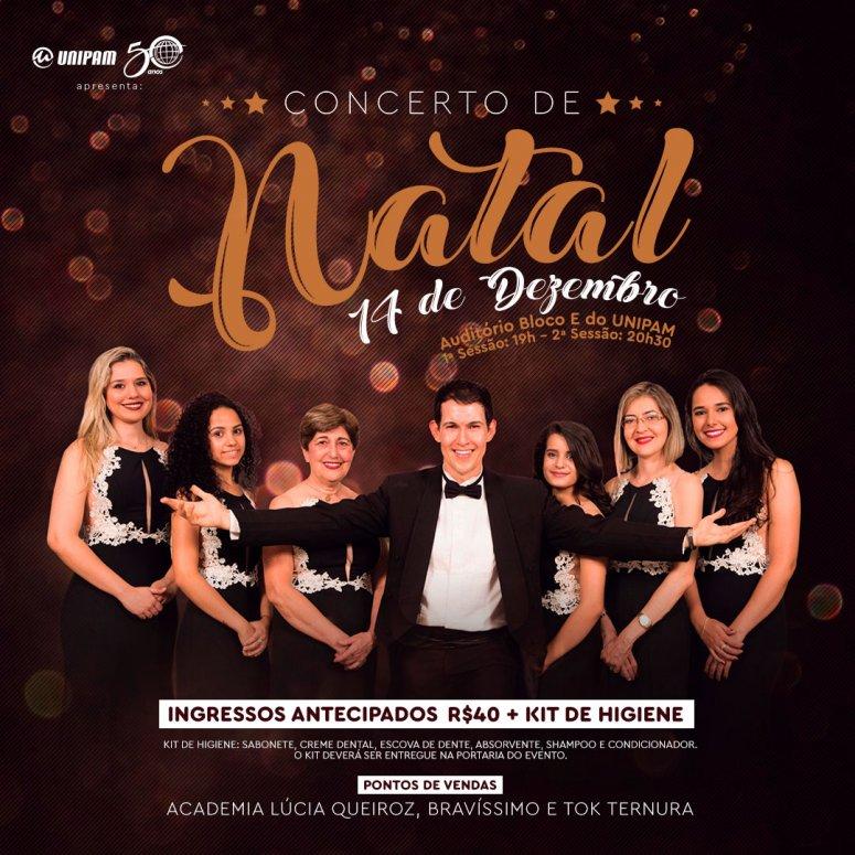 Concerto de Natal será realizado no UNIPAM