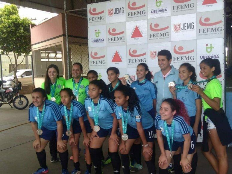 Equipe de Patos de Minas conquista segundo lugar no JEMG etapa estadual