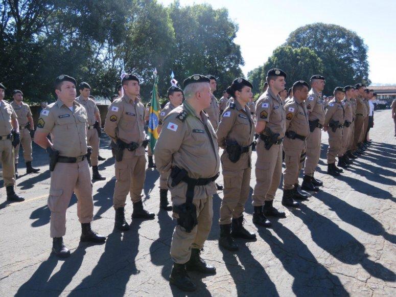 Polícia Militar de Patos de Minas comemora o aniversário da PMMG, da 10ª RPM e o dia dos veteranos