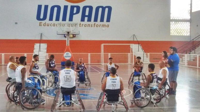 Jogadores da Associação Paraolímpica Patense participarão do Campeonato Mineiro de Basquetebol em Cadeiras de Rodas