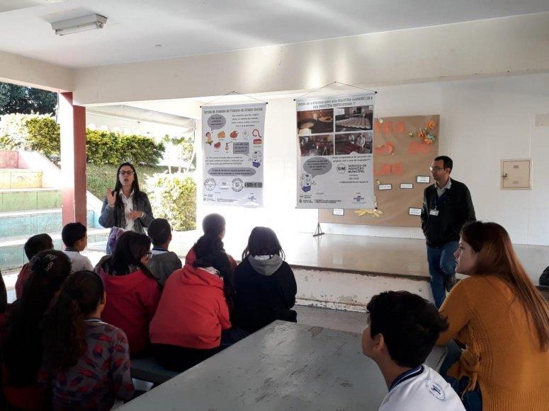 Serviço de Inspeção Municipal realiza palestras em escolas municipais