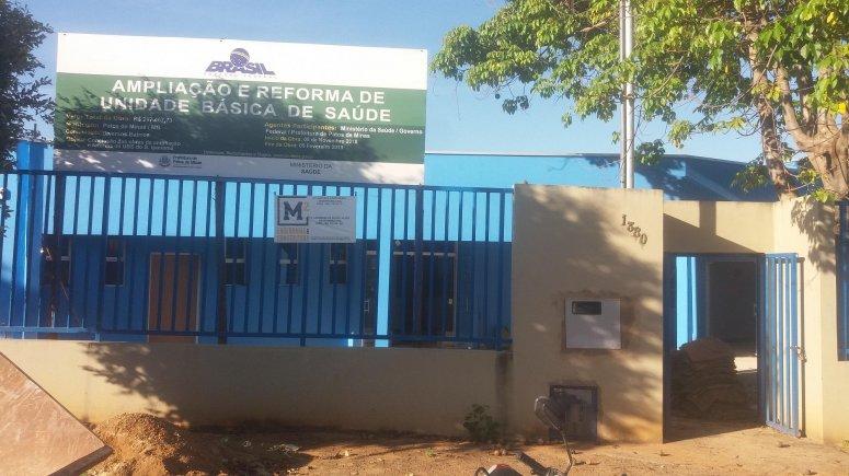Obras da reforma e ampliação da Unidade Básica de Saúde do bairro Ipanema estão em fase de conclusão